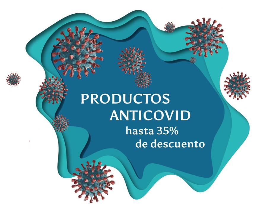 oferta en desinfectante coronavirus hasta el 35%